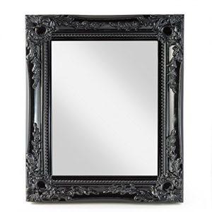 Elbmöbel wall mirror black shabby chic antique style ornate 33x27x3cm large Elbmbel wall mirror black shabby chic antique style ornate 33x27x3cm large 0 300x300