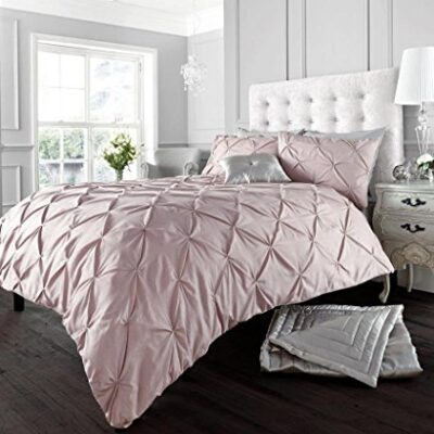 luxury duvet cover sets with pillowcases new bedding Pintuck Duvet Cover and Pillowcases Set Poly Cotton Bedding (Alford Peppermint, King) Luxury Duvet cover sets with pillowcases new bedding 0 400x400
