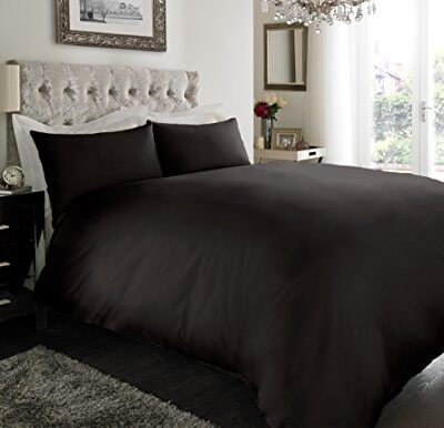 sleepdove® luxury egyptian cotton 200 count bedding sets duvet cover set (quilt cover with pillow cases sleepdove® EGYPTIAN COTTON 200 COUNT BEDDING SETS DUVET COVER SET (QUILT COVER WITH PILLOW CASES (Double, Black) SLEEPDOVE LUXURY EGYPTIAN COTTON 200 COUNT BEDDING SETS DUVET COVER SET QUILT COVER WITH PILLOW CASES 0 400x386