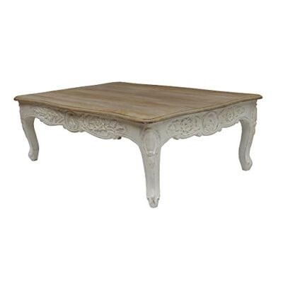shabby chic solid mango wood carved coffee table in white distressed finish. full range of matching furniture is available for bedroom, living room, kitchen, dining room, bathroom & hall. Shabby Chic Solid Mango Wood Carved Coffee Table in White Distressed Finish. FULL RANGE OF MATCHING FURNITURE IS AVAILABLE FOR BEDROOM, LIVING ROOM, KITCHEN, DINING ROOM, BATHROOM & HALL. Shabby Chic Solid Mango Wood Carved Coffee Table in White Distressed Finish FULL RANGE OF MATCHING FURNITURE IS AVAILABLE FOR BEDROOM LIVING ROOM KITCHEN DINING ROOM BATHROOM HALL 0 400x400