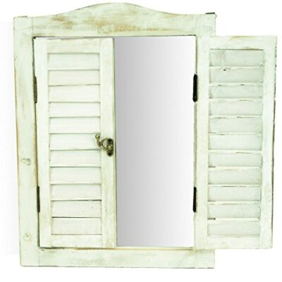 east2eden wooden garden vintage distressed look wall mirror (white washed) east2eden Wooden Garden Vintage Distressed Look Wall Mirror (White Washed) east2eden Wooden Garden Shabby Chic Vintage Distressed Look Wall Mirror 0 400x400
