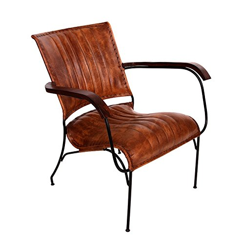 indhouse – chair vintage industrial and style in leather and wood arm indhouse – Chair Vintage Industrial and Style in leather and wood Arm indhouse  Chair Vintage Industrial and Style in leather and wood Arm 0