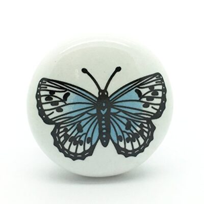 big butterfly ceramic door knob vintage shabby chic cupboard drawer pull handle G Decor Big Butterfly Ceramic Door Knob Vintage Shabby Chic Cupboard Drawer Pull Handle Big Butterfly Ceramic Door Knob Vintage Shabby Chic Cupboard Drawer Pull Handle 0 400x400