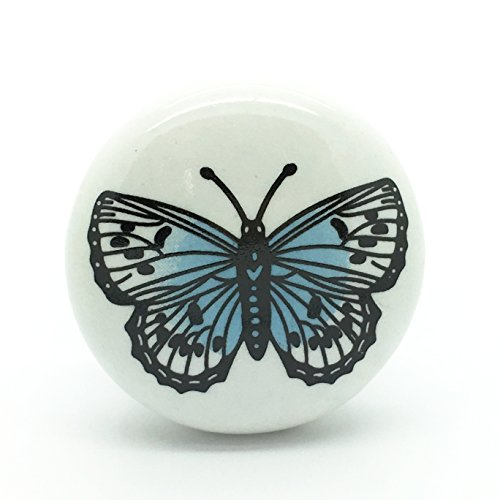 big butterfly ceramic door knob vintage shabby chic cupboard drawer pull handle Big Butterfly Ceramic Door Knob Vintage Shabby Chic Cupboard Drawer Pull Handle Big Butterfly Ceramic Door Knob Vintage Shabby Chic Cupboard Drawer Pull Handle 0