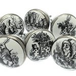 Mixed Set of 6 'Alice in Wonderland' Shabby Chic Vintage Style Ceramic Cupboard Knobs (MG-29) – 'Mango Tree' TM Registered Product Mixed Set of 6 Alice in Wonderland Shabby Chic Vintage Style Ceramic Cupboard Knobs MG 29 Mango Tree TM Registered Product 0 150x150