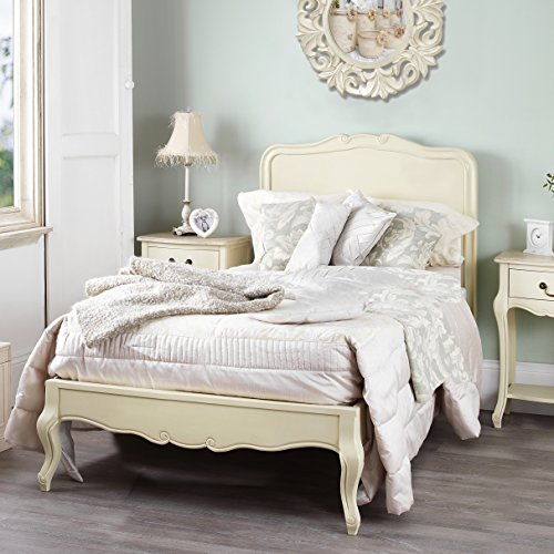 Juliette Shabby Chic Champagne 3ft Single Bed, Stunning Cream French bed. Cream single bed Juliette Shabby Chic Champagne 3ft Single Bed, Stunning Cream French bed. Cream single bed Juliette Shabby Chic Champagne 3ft Single Bed Stunning Cream French bed Cream single bed 0