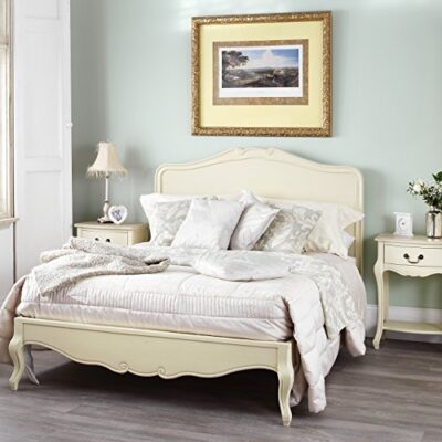 juliette shabby chic champagne 6ft super king bed with wooden headboard, stunning french bed Juliette Shabby Chic Champagne 6ft Super King bed with wooden headboard, Stunning French Bed Juliette Shabby Chic Champagne 6ft Super King bed with wooden headboard Stunning French Bed 0 400x400