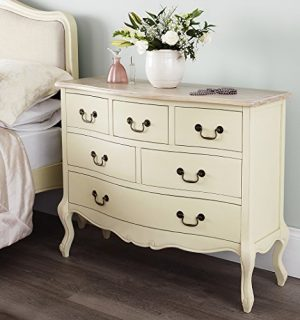 Juliette Shabby Chic Champagne 6 Drawer Chest (100x81), Stunning ASSEMBLED cream chest of drawers Juliette Shabby Chic Champagne 6 Drawer Chest (100×81), Stunning ASSEMBLED cream chest of drawers Juliette Shabby Chic Champagne Large 6 Drawer Chest 120x96 Stunning ASSEMBLED cream chest of drawers 0 300x320