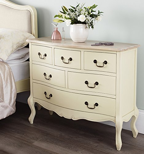 Juliette Shabby Chic Champagne 6 Drawer Chest (100x81), Stunning ASSEMBLED cream chest of drawers Juliette Shabby Chic Champagne 6 Drawer Chest (100×81), Stunning ASSEMBLED cream chest of drawers Juliette Shabby Chic Champagne Large 6 Drawer Chest 120x96 Stunning ASSEMBLED cream chest of drawers 0