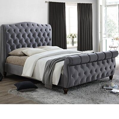 happy beds colorado classic scroll sleigh bed grey fabric furniture mattresses Happy Beds Colorado Classic Scroll Sleigh Bed Grey Fabric Furniture Mattresses Happy Beds Colorado Classic Scroll Sleigh Bed Grey Fabric Furniture Mattresses 0 400x400