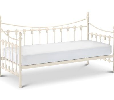 julian bowen versailles daybed, stone white, single Julian Bowen Versailles Daybed, Stone White, Single Julian Bowen Versailles Daybed Single Ivory Coating 0 400x354
