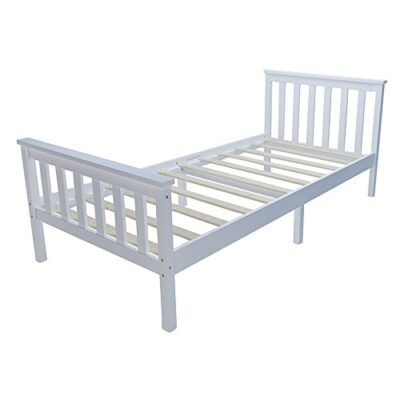 pandamoto double bed solid wooden pine bed 4'6 wooden frame in white Pandamoto Single Bed Solid Wooden Pine Bed 3ft Wooden Frame In White (Single bed001) Pandamoto Double Bed Solid Wooden Pine Bed 46 Wooden Frame In White 0 400x400