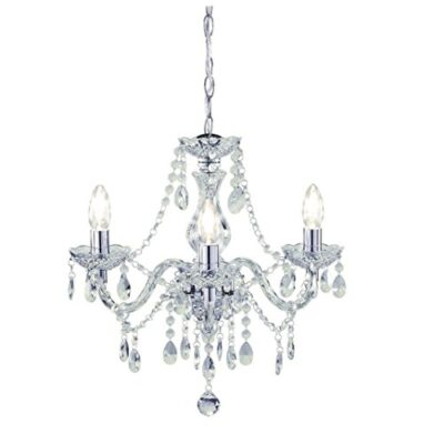 tuscany elegant chandelier ceiling light acrylic crystal droplets with 3 lights ideal for living room, bedroom, dining… Tuscany Elegant Chandelier Ceiling Light Acrylic Crystal Droplets with 3 Lights Ideal for Living Room, Bedroom, Dining… Tuscany Elegant Chandelier Ceiling Light Acrylic Crystal Droplets with 3 lights ideal for Living Room Bedroom Dining Room Hallway 0 400x400
