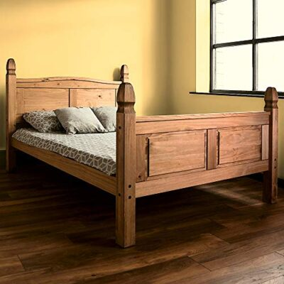 vida designs corona double bed, 4 ft 6, high foot end bed frame, solid pine wood Amazon Brand – Movian Corona Double Bed, 4 ft 6, High Foot End Bed Frame, Solid Pine Wood Vida Designs Corona Double Bed 4 ft 6 High Foot End Bed Frame Solid Pine Wood 0 400x400