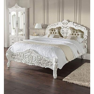 homesdirect365 estelle antique french style bed kingsize homesdirect365 Estelle Antique French Style Bed Kingsize homesdirect365 Estelle Antique French Style Bed Kingsize 0 400x400