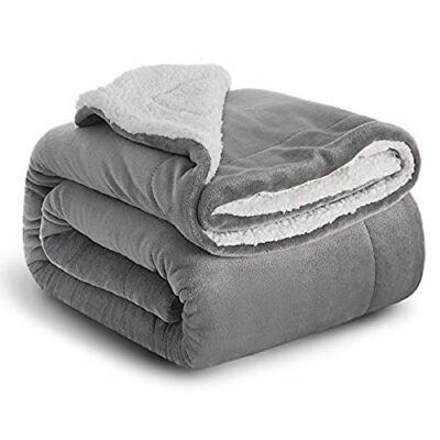 bedsure sherpa throw blanket silver grey travel/single size (130 x 150cm) fleece bed throws warm reversible microfiber solid blankets for bed and couch Bedsure Sherpa Throw Blanket Silver Grey Travel/Single Size (130 x 150cm) Fleece Bed Throws Warm Reversible Microfiber Solid Blankets for Bed and Couch Bedsure Sherpa Throw Blanket Silver Grey TravelSingle Size 130 x 150cm Fleece Bed Throws Warm Reversible Microfiber Solid Blankets for Bed and Couch 0 400x400