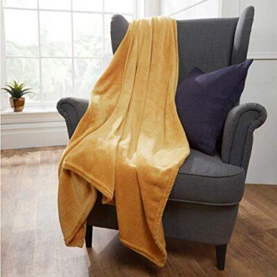 brentfords ultra soft blanket bedspread, 100% polyester plush microfiber fleece, ochre mustard yellow, medium - 120 x 150cm Brentfords Ultra Soft Blanket Bedspread, 100% Polyester Plush Microfiber Fleece, Ochre Mustard Yellow, Medium – 120 x 150cm Brentfords Ultra Soft Blanket Bedspread 100 Polyester Plush Microfiber Fleece Ochre Mustard Yellow Medium 120 x 150cm 0 400x400