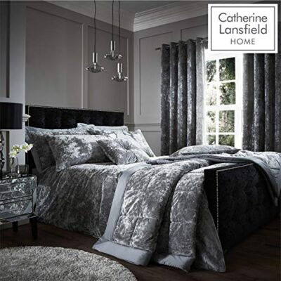 catherine lansfield crushed velvet silver Catherine Lansfield Crushed Velvet Silver Catherine Lansfield Crushed Velvet Silver 0 400x400