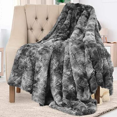 everlasting comfort luxury faux fur throw blanket - ultra soft and fluffy - plush throw blankets for couch bed and living room - fall winter and spring - 50x65 (full size) gray Everlasting Comfort Luxury Faux Fur Throw Blanket – Ultra Soft and Fluffy – Plush Throw Blankets for Couch Bed and Living Room – Fall Winter and Spring – 50×65 (Full Size) Gray Everlasting Comfort Luxury Faux Fur Throw Blanket Ultra Soft and Fluffy Plush Throw Blankets for Couch Bed and Living Room Fall Winter and Spring 50x65 Full Size Gray 0 400x400
