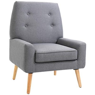 homcom nordic single cushion padded chair wooden armchair button tufted seat sponge scandinavian living room bedroom HOMCOM Nordic Single Cushion Padded Chair Wooden Armchair Button Tufted Seat Sponge Scandinavian Living Room Bedroom HOMCOM Nordic Single Cushion Padded Chair Wooden Armchair Button Tufted Seat Sponge Scandinavian Living Room Bedroom 0 400x400
