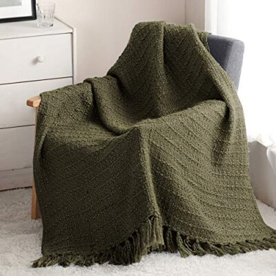 horimote home thick chunky knitted throw blanket for couch chair sofa bed, textured chic boho style basket weave pattern knit throw with decorative fringe (olive green, 127x152cm) HORIMOTE HOME Thick Chunky Knitted Throw Blanket for Couch Chair Sofa Bed, Textured Chic Boho Style Basket Weave Pattern Knit Throw with Decorative Fringe (Olive Green, 127x152cm) HORIMOTE HOME Thick Chunky Knitted Throw Blanket for Couch Chair Sofa Bed Textured Chic Boho Style Basket Weave Pattern Knit Throw with Decorative Fringe Olive Green 127x152cm 0 400x400