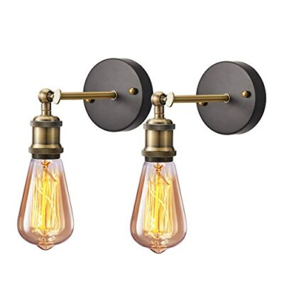 industrial wall light 2 pack, licperron e26 vintage wall sconce lamp fitting fixtures with e27 lamp holder for restaurant bar hotel coffee shop decoration Industrial Wall Light 2 Pack, Licperron E26 Vintage Wall Sconce Lamp Fitting Fixtures with E27 Lamp Holder for Restaurant Bar Hotel Coffee Shop Decoration Industrial Wall Light 2 Pack Licperron E26 Vintage Wall Sconce Lamp Fitting Fixtures with E27 Lamp Holder for Restaurant Bar Hotel Coffee Shop Decoration 0 400x400