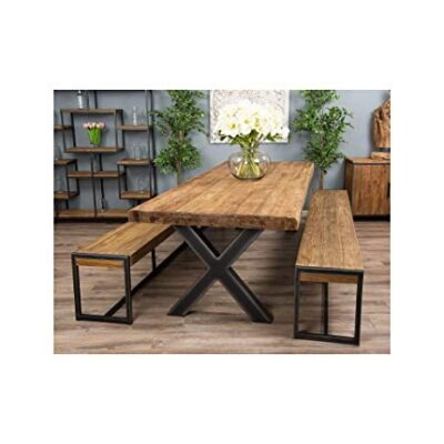 inspiring furniture ltd 3m reclaimed teak urban fusion cross dining table with two backless benches Inspiring Furniture Ltd 3m Reclaimed Teak Urban Fusion Cross Dining Table with Two Backless Benches Inspiring Furniture Ltd 3m Reclaimed Teak Urban Fusion Cross Dining Table with Two Backless Benches 0 400x400