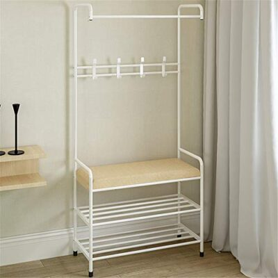 keliour garment rack clothing garment rack heavy duty clothes rack commercial grade clothes organizer with 2 shelves 4 hooks vintage clothing rack (color : white, size : 64x30x172cm) Keliour Garment Rack Clothing Garment Rack Heavy Duty Clothes Rack Commercial Grade Clothes Organizer with 2 Shelves 4 Hooks Vintage Clothing Rack (Color : White, Size : 64x30x172cm) Keliour Garment Rack Clothing Garment Rack Heavy Duty Clothes Rack Commercial Grade Clothes Organizer with 2 Shelves 4 Hooks Vintage Clothing Rack Color White Size 64x30x172cm 0 400x400