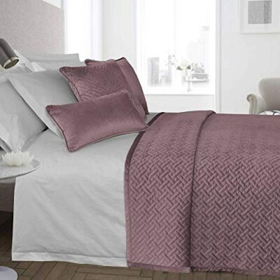 ravali luxury french velvet quilted herringbone bedspread throw over bedding quilt (blush pink) RAVALI Luxury French Velvet Quilted Herringbone Bedspread Throw Over Bedding Quilt (Blush Pink) RAVALI Luxury French Velvet Quilted Herringbone Bedspread Throw Over Bedding Quilt Blush Pink 0 400x400