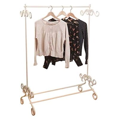 shabby chic cream vintage metal ornate garments clothes rail hanging stand Shabby Chic Cream Vintage Metal Ornate Garments Clothes Rail Hanging Stand Shabby Chic Cream Vintage Metal Ornate Garments Clothes Rail Hanging Stand 0 400x400