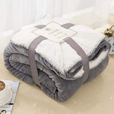 sherpa dual sided blanket plush fabric extra soft fleece sherpa bed throws fluffy and improve sleep grey king 200 x 240 Sherpa Dual Sided Blanket Plush Fabric Extra Soft Fleece Sherpa Bed Throws Fluffy and Improve Sleep GREY King 200 X 240 Sherpa Dual Sided Blanket Plush Fabric Extra Soft Fleece Sherpa Bed Throws Fluffy and Improve Sleep GREY King 200 X 240 0 400x400