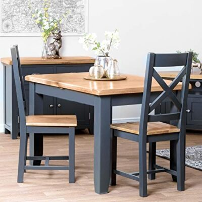 the furniture outlet hampshire blue painted oak small extending dining table (seats 6) table only The Furniture Outlet Hampshire Blue Painted Oak Small Extending Dining Table (Seats 6) Table Only The Furniture Outlet Hampshire Blue Painted Oak Small Extending Dining Table Seats 6 Table Only 0 400x400