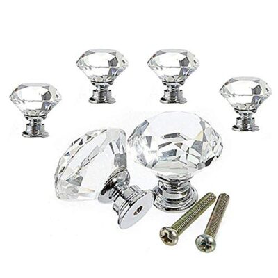 vipmoon 6pcs 30mm clear crystal glass diamond door knobs with screw for cabinet drawer handle home decorating VIPMOON 6pcs 30mm Clear Crystal Glass Diamond Door Knobs with Screw for Cabinet Drawer Handle Home Decorating VIPMOON 6pcs 30mm Clear Crystal Glass Diamond Door Knobs with Screw for Cabinet Drawer Handle Home Decorating 0 400x400