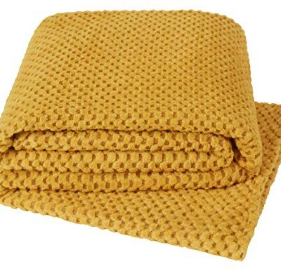 yourhome throw soft & cosy teddy popcorn suitable for bed, chair or sofa (130x180, ochre) YourHome Throw soft & cosy teddy popcorn suitable for bed, chair or sofa (130×180, Ochre) YourHome Throw soft cosy teddy popcorn suitable for bed chair or sofa 130x180 Ochre 0 400x386