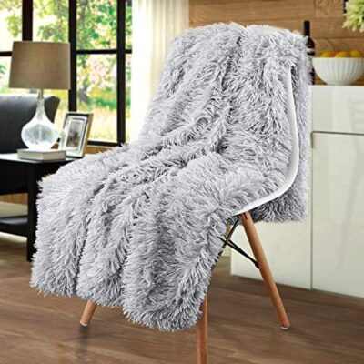 junovo faux fur shaggy throw blanket super soft cozy fluffy blankets warm lightweight long hair fuzzy throws for couch & bed decor (silver gray,50x60 inch) junovo Faux Fur Shaggy Throw Blanket Super Soft Cozy Fluffy Blankets Warm Lightweight Long Hair Fuzzy Throws for Couch & Bed Decor (Silver Gray,50×60 inch) junovo Faux Fur Shaggy Throw Blanket Super Soft Cozy Fluffy Blankets Warm Lightweight Long Hair Fuzzy Throws for Couch Bed Decor Silver Gray50x60 inch 0 400x400