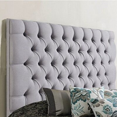 luxisleepltd stylish colchester bed headboard in chenille fabric with matching buttons (5ft king size, grey) luxisleepltd Stylish Colchester Bed Headboard in Chenille Fabric with matching Buttons (5ft King Size, Grey) luxisleepltd Stylish Colchester Bed Headboard in Chenille Fabric with matching Buttons 5ft King Size Grey 0 400x400