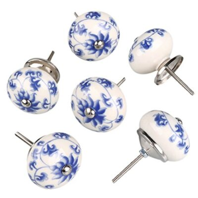 sourcingmap 6 pieces vintage shabby knobs floral hand painted ceramic pumpkin cupboard wardrobe cabinet drawer door handles pulls knob, blue and white flower sourcingmap 6 Pieces Vintage Shabby Knobs Floral Hand Painted Ceramic Pumpkin Cupboard Wardrobe Cabinet Drawer Door Handles Pulls Knob, Blue and White Flower sourcingmap 6 Pieces Vintage Shabby Knobs Floral Hand Painted Ceramic Pumpkin Cupboard Wardrobe Cabinet Drawer Door Handles Pulls Knob Blue and White Flower 0 400x400
