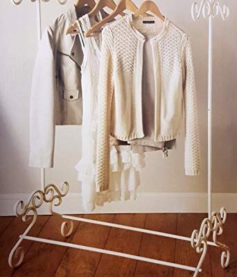 spot on dealz® shabby chic cream metal garment rail vintage style clothes hanging stand bedroom guest house essential spot on dealz® Shabby Chic Cream Metal Garment Rail Vintage Style Clothes Hanging Stand Bedroom Guest House Essential spot on dealz Shabby Chic Cream Metal Garment Rail Vintage Style Clothes Hanging Stand Bedroom Guest House Essential 0 342x400