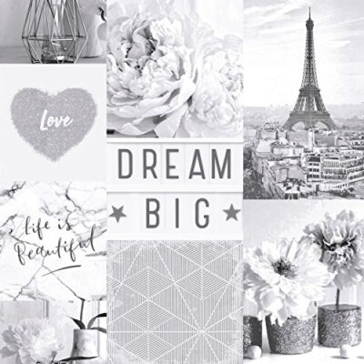 Arthouse Life is Beautiful Mono Wallpaper 692100 – Glitter Paris City Love Heart Arthouse Life is Beautiful Mono Wallpaper 692100 Glitter Paris City Love Heart 0 400x400